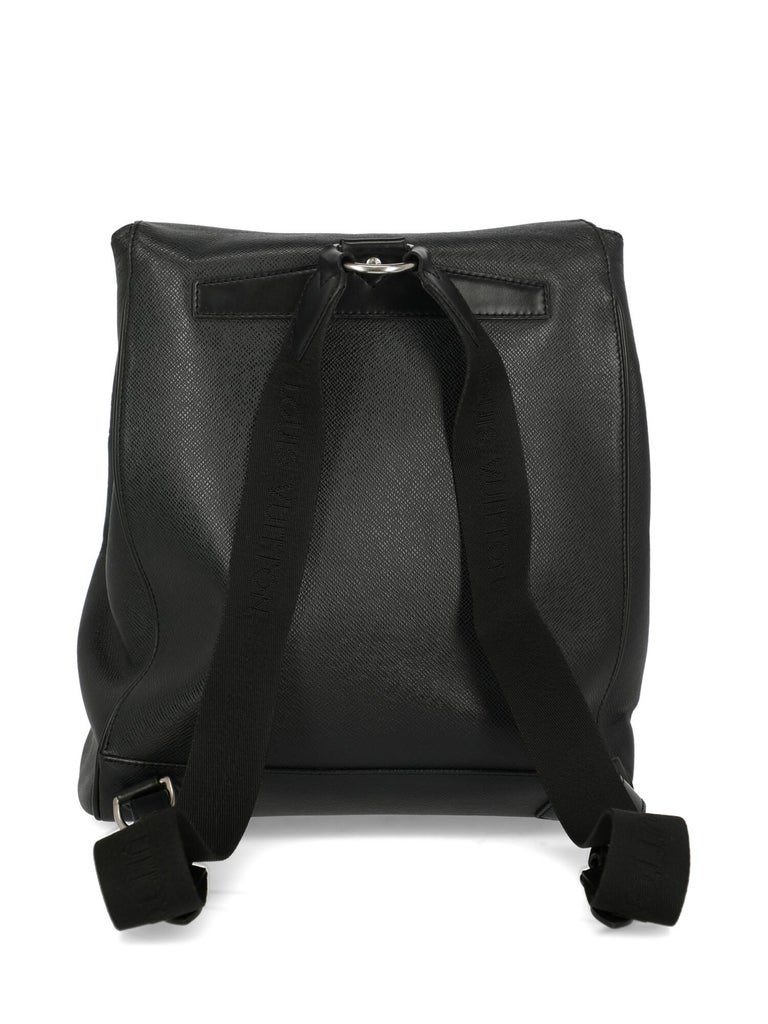 Louis Vuitton Women's Backpack Black Leather 1