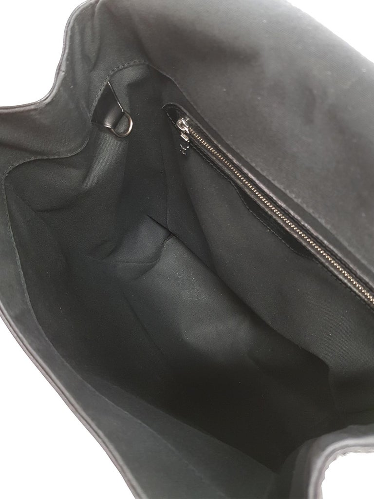 Louis Vuitton Women's Backpack Black Leather 3