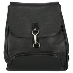 Louis Vuitton Women's Backpack Black Leather