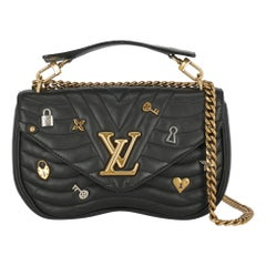 Louis Vuitton Women's Crossbody Bag New Wave Black Leather