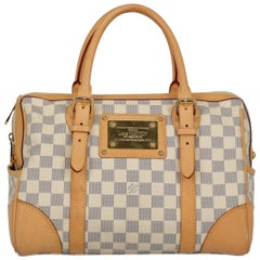 Louis Vuitton Women's Hampstead Grey/White Synthetic Fibers