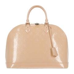 Louis Vuitton Women's Handbag Alma Beige Leather