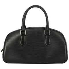 Louis Vuitton Women's Handbag Black Leather