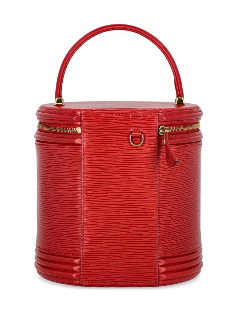 Louis Vuitton Women's Handbag Red Leather For Sale 1
