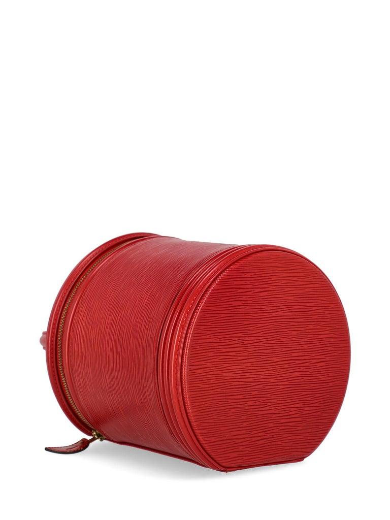 Louis Vuitton Women's Handbag Red Leather For Sale 2