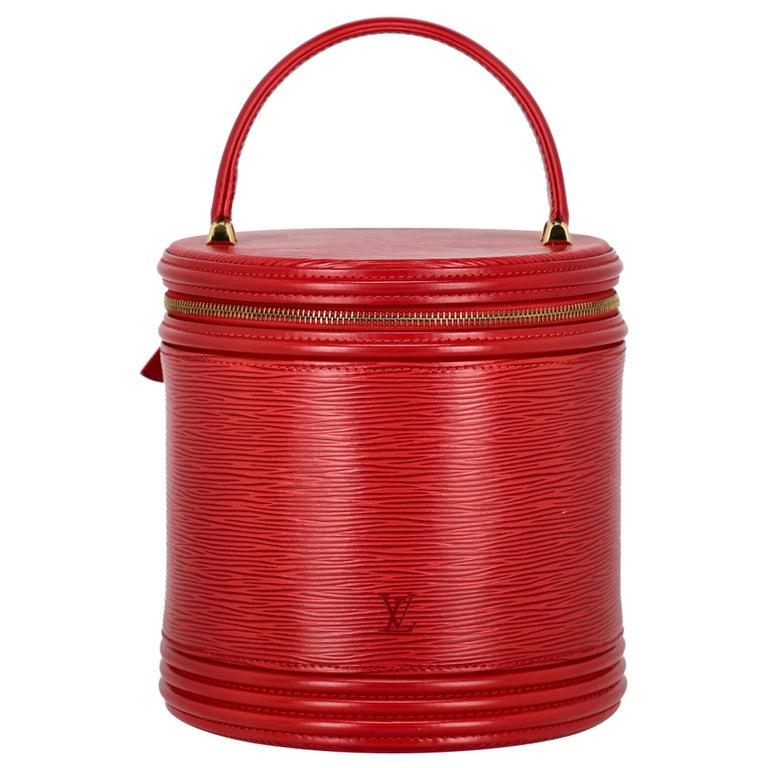 Louis Vuitton Women's Handbag Red Leather For Sale
