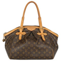 Louis Vuitton Women's Tivoli Brown Synthetic Fibers