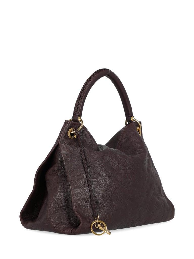 Black Louis Vuitton Women's Tote Bag Artsy Purple For Sale