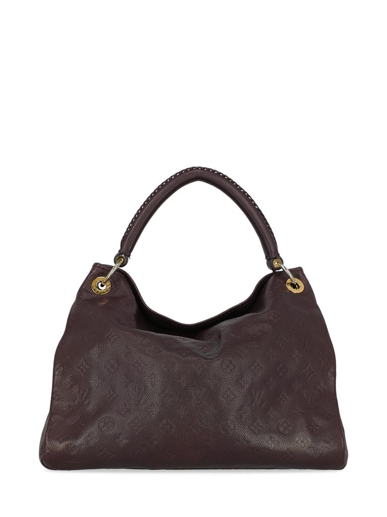 Louis Vuitton Women's Tote Bag Artsy Purple In Good Condition For Sale In Milan, IT