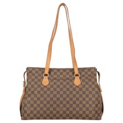 Louis Vuitton Women's Tote Bag Brown Synthetic Fibers