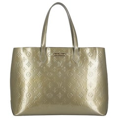 Louis Vuitton Women's Tote Bag Gold Leather