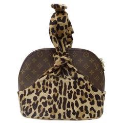 Louis Vuitton x Azzedine Alaia 'Centenaire' Leopard Alma Bag