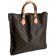 Louis Vuitton x French Luggage Co Sac Plat Tote Bag Monogram Canvas Vintage