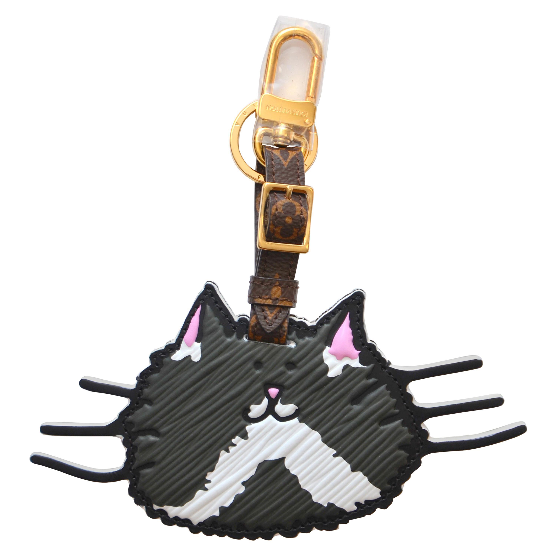 Louis Vuitton X Grace Coddington Catogram Bag Charm And Key Holder  NEW