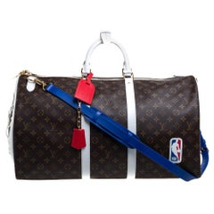 Louis Vuitton x NBA Monogram Canvas Basketball Keepall 55 Bag