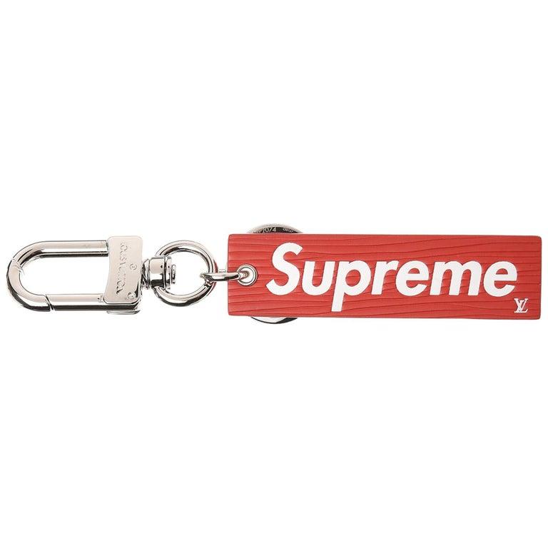 Louis Vuitton X Supreme Epi Leather Key Chain