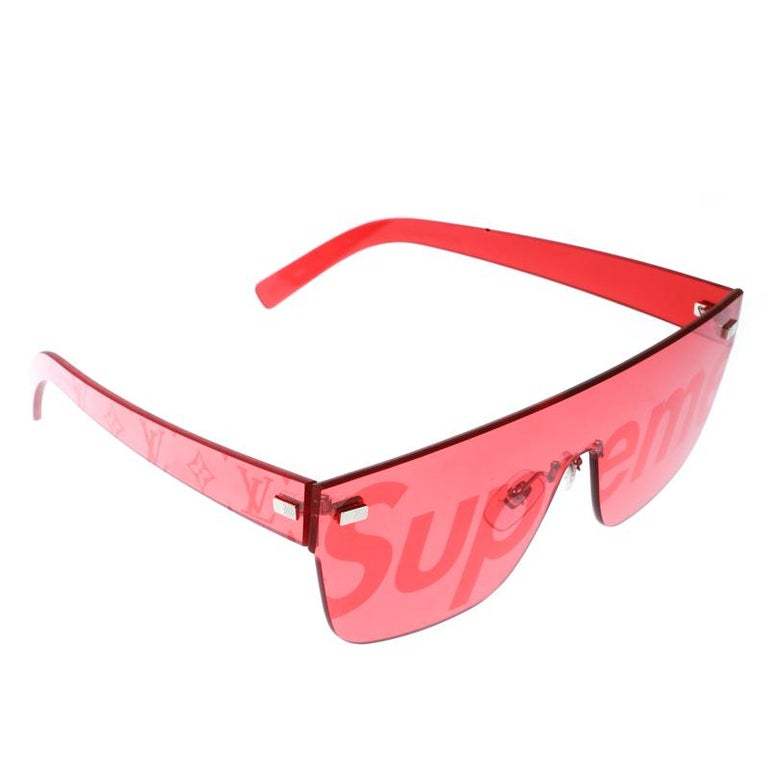 9aec59e7e954d ... City Mask Shield Sunglasses For Sale. Louis Vuitton x Supreme  collection is making a loud fashion presence which is hard to ignore