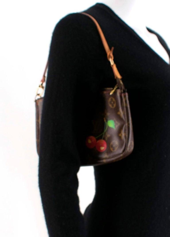 Louis Vuitton x Takashi Murakami Cherry Pochette Accessoires 12cm For Sale 4