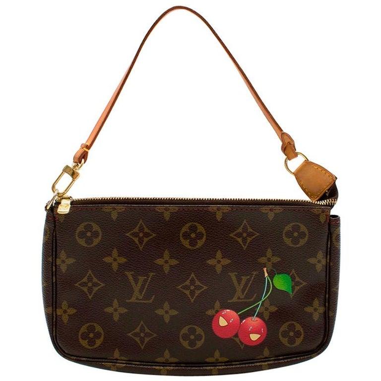 Louis Vuitton x Takashi Murakami Cherry Pochette Accessoires 12cm For Sale
