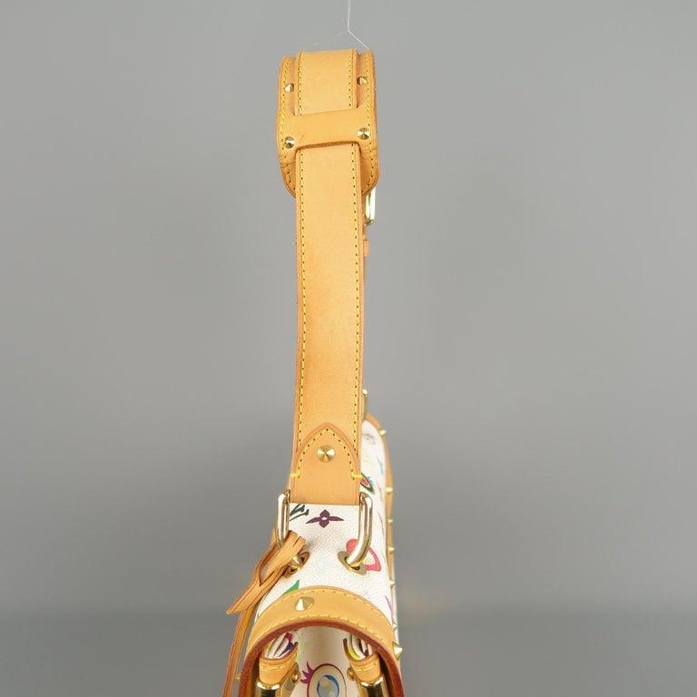 Tasche von LOUISVUITTON x Takashi Murakami Weiße Mehrfarbige Monogramm EYE NEED YOU Tasche 11