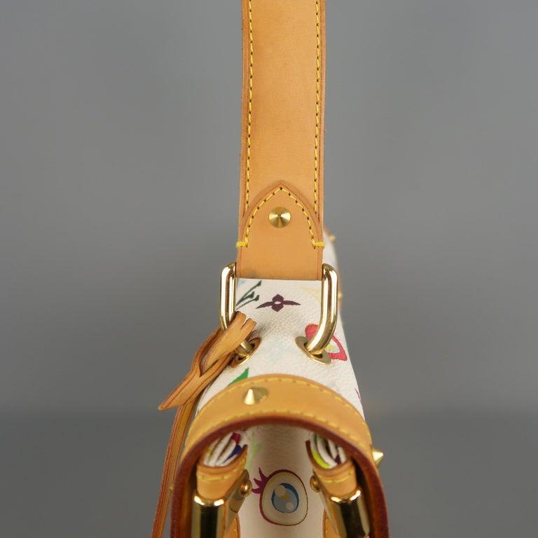 Tasche von LOUISVUITTON x Takashi Murakami Weiße Mehrfarbige Monogramm EYE NEED YOU Tasche 12