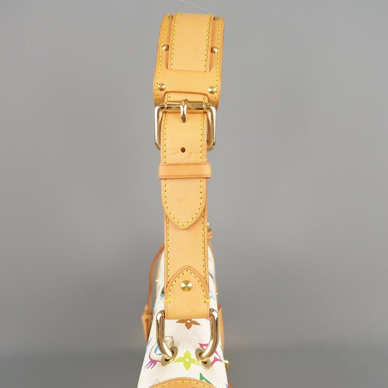 Tasche von LOUISVUITTON x Takashi Murakami Weiße Mehrfarbige Monogramm EYE NEED YOU Tasche 5