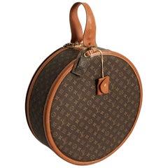 Louis Vuitton x The French Company Boite Chapeaux Round Hat Box 50cm Travel Bag