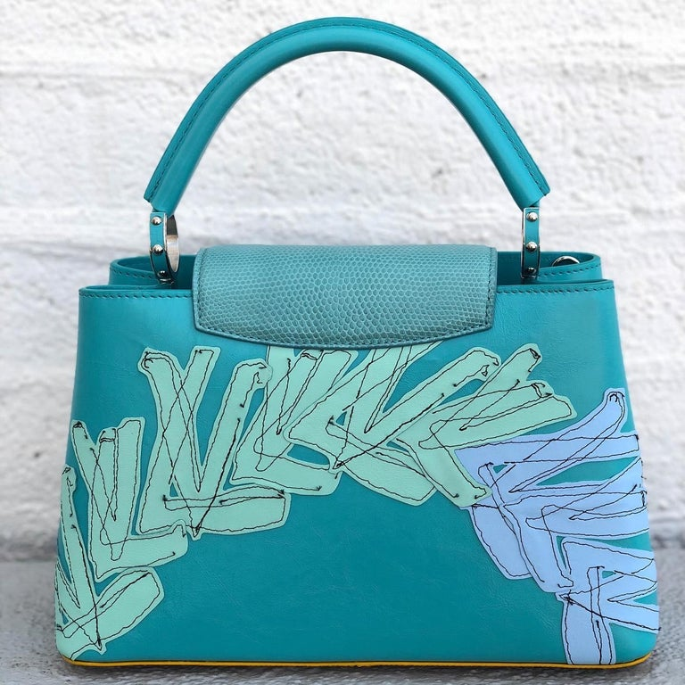 Louis Vuitton x Tschabalala Self Artycapucines PM Bag In New Condition For Sale In Scottsdale, AZ