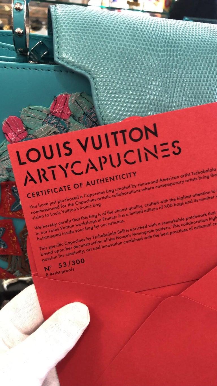 Women's or Men's Louis Vuitton x Tschabalala Self Artycapucines PM Bag For Sale
