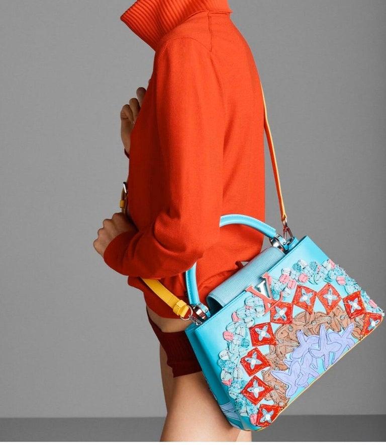 Louis Vuitton x Tschabalala Self Artycapucines PM Bag For Sale 2