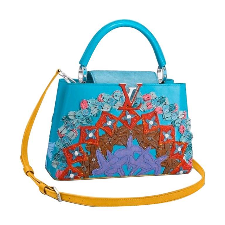 Louis Vuitton x Tschabalala Self Artycapucines PM Bag For Sale