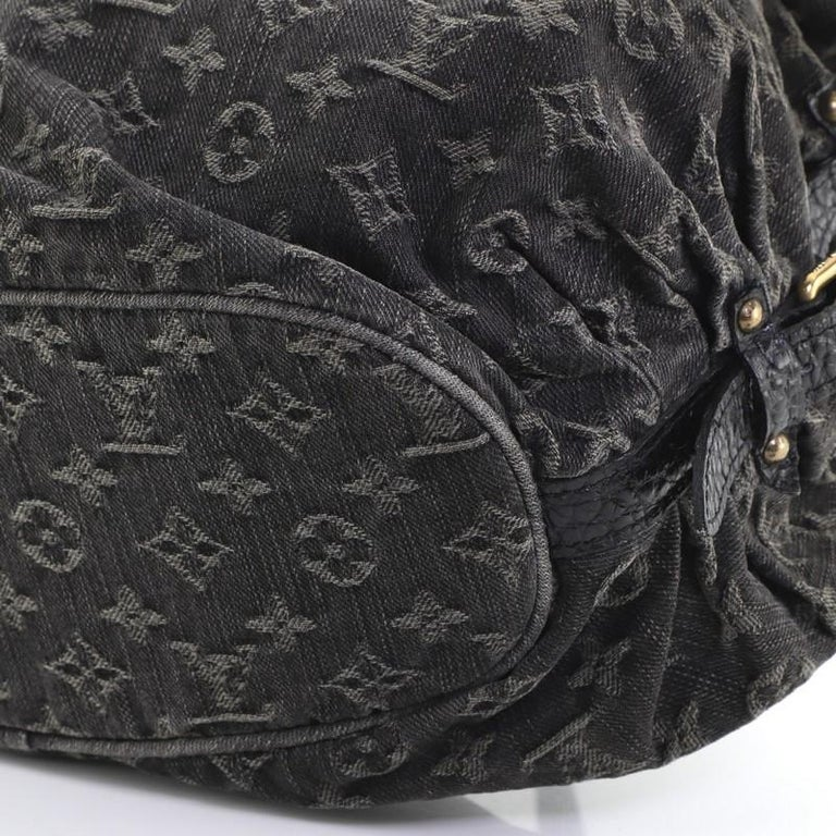 Louis Vuitton XS Hobo Denim For Sale 3