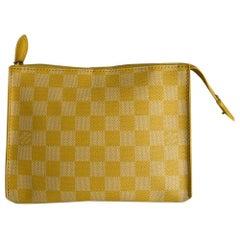 Louis Vuitton, Yellow canvas bag
