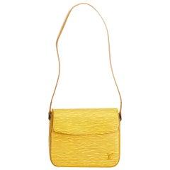 Louis Vuitton Yellow Epi Buci