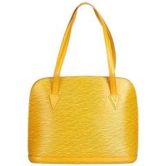 Louis Vuitton Yellow Epi Lussac