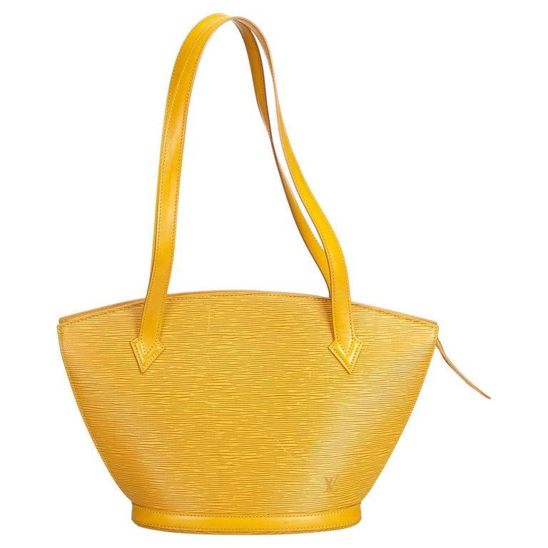 5f0238c1b823 Louis Vuitton Yellow Epi Saint Jacques Short Strap at 1stdibs