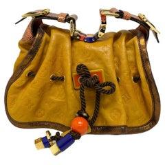 Louis Vuitton Yellow Leather Kalahari Paprika Limited Edition Bag