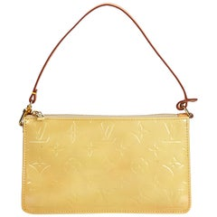 Louis Vuitton Yellow Vernis Leather Leather Vernis Lexington Pochette France