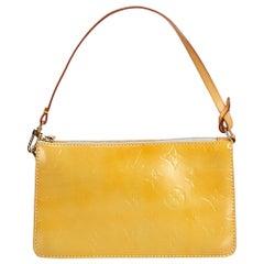 Louis Vuitton Yellow Vernis Lexington Pochette