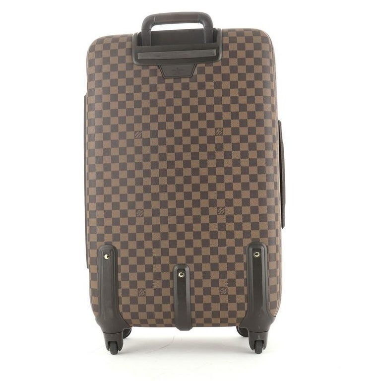 Gray Louis Vuitton Zephyr Luggage Damier 70