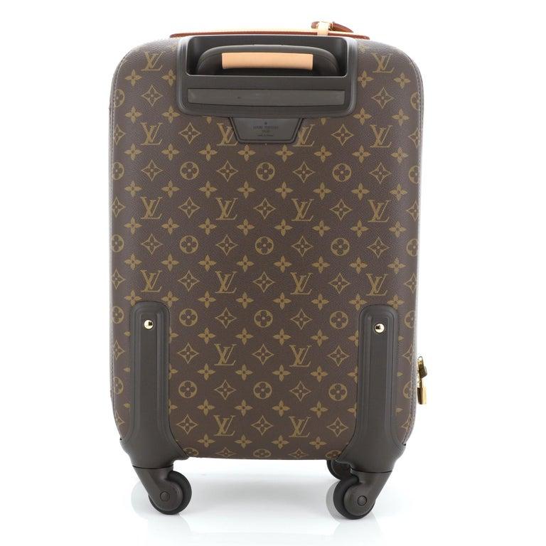 Women's or Men's Louis Vuitton Zephyr Luggage Monogram Canvas 55  For Sale
