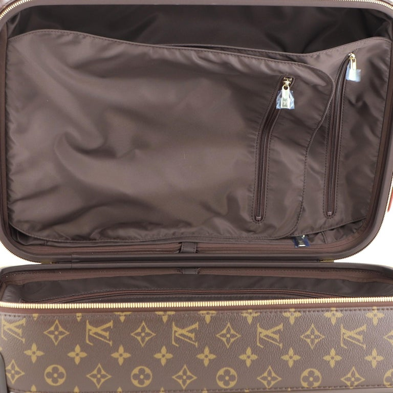 Louis Vuitton Zephyr Luggage Monogram Canvas 55  For Sale 4
