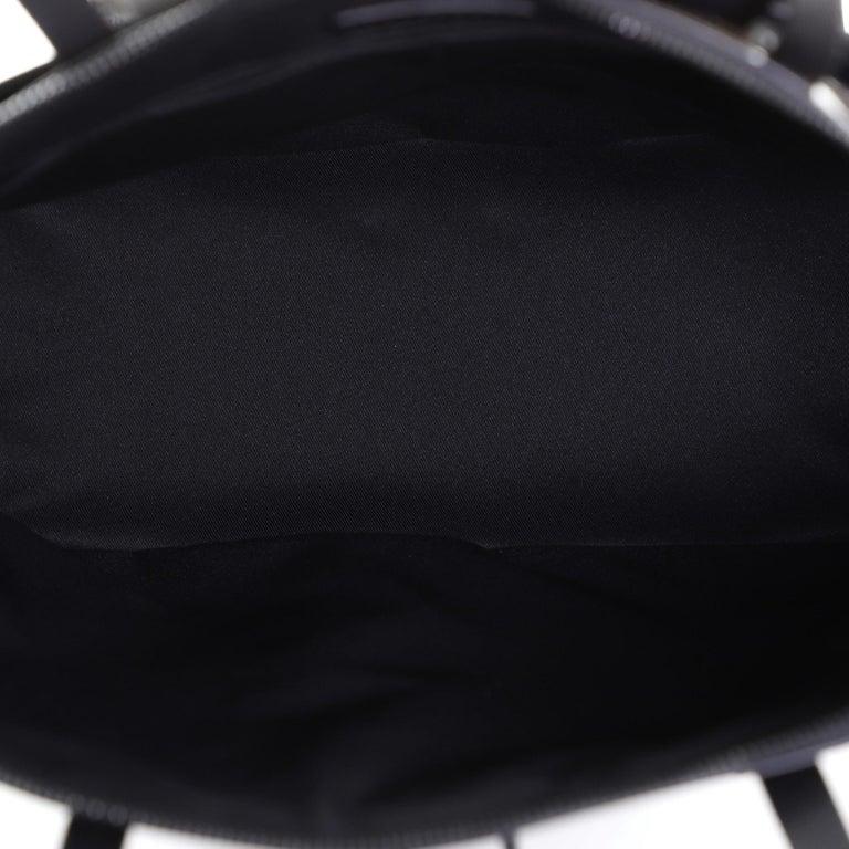 Louis Vuitton Zipped Tote Limited Edition Monogram Glaze Eclipse Canvas For Sale 1
