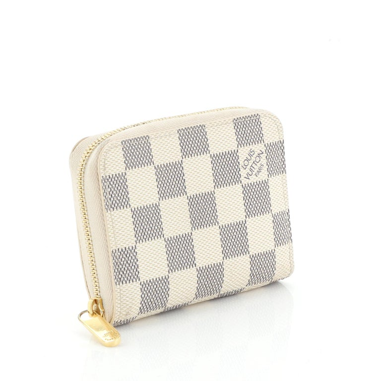 white louis vuitton coin purse