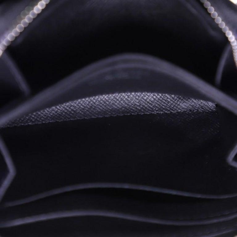 Louis Vuitton Zippy Coin Purse Damier Graphite Vertical For Sale 1