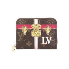 Louis Vuitton Zippy Coin Purse Limited Edition Summer Trunks Monogram Canvas