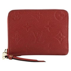 Louis Vuitton Zippy Coin Purse Monogram Empreinte Leather
