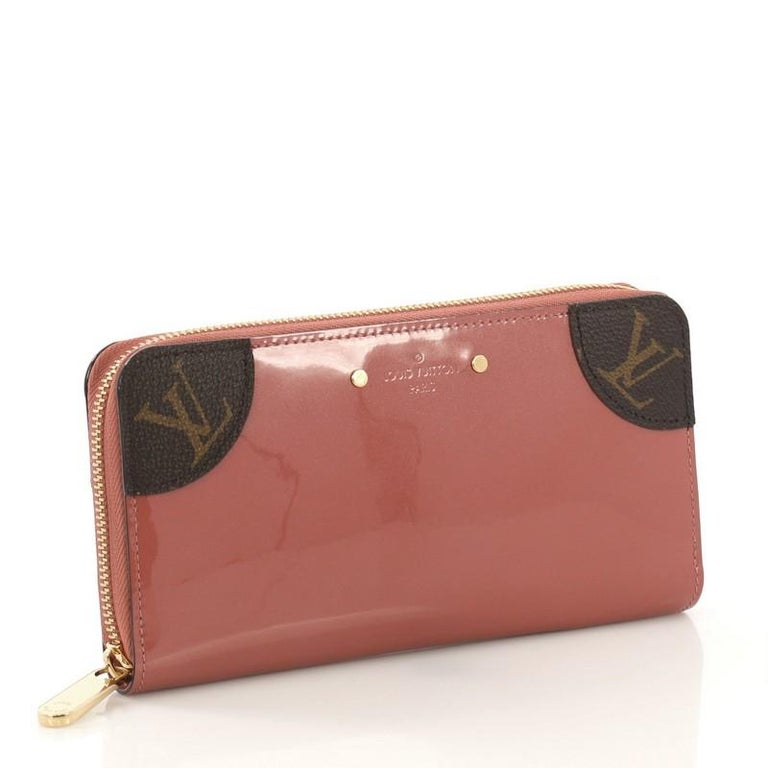Louis Vuitton Zippy Venice Wallet Vernis With Monogram Canvas At 1stdibs