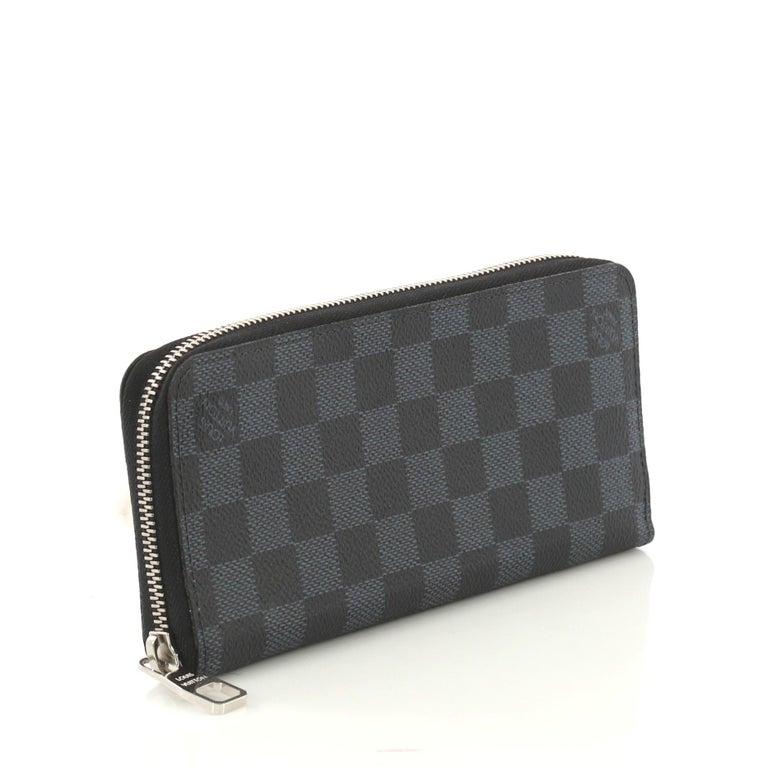 f61023b9553 Louis Vuitton Zippy Wallet Damier Cobalt Vertical