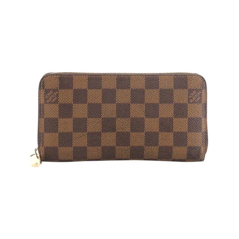 Louis Vuitton Zippy Wallet Damier For Sale